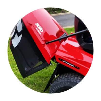 Трактор газонный AL-KO